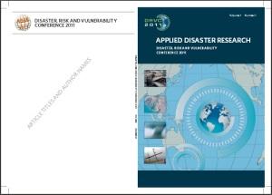 DRVC 2011 Proceedings jpg
